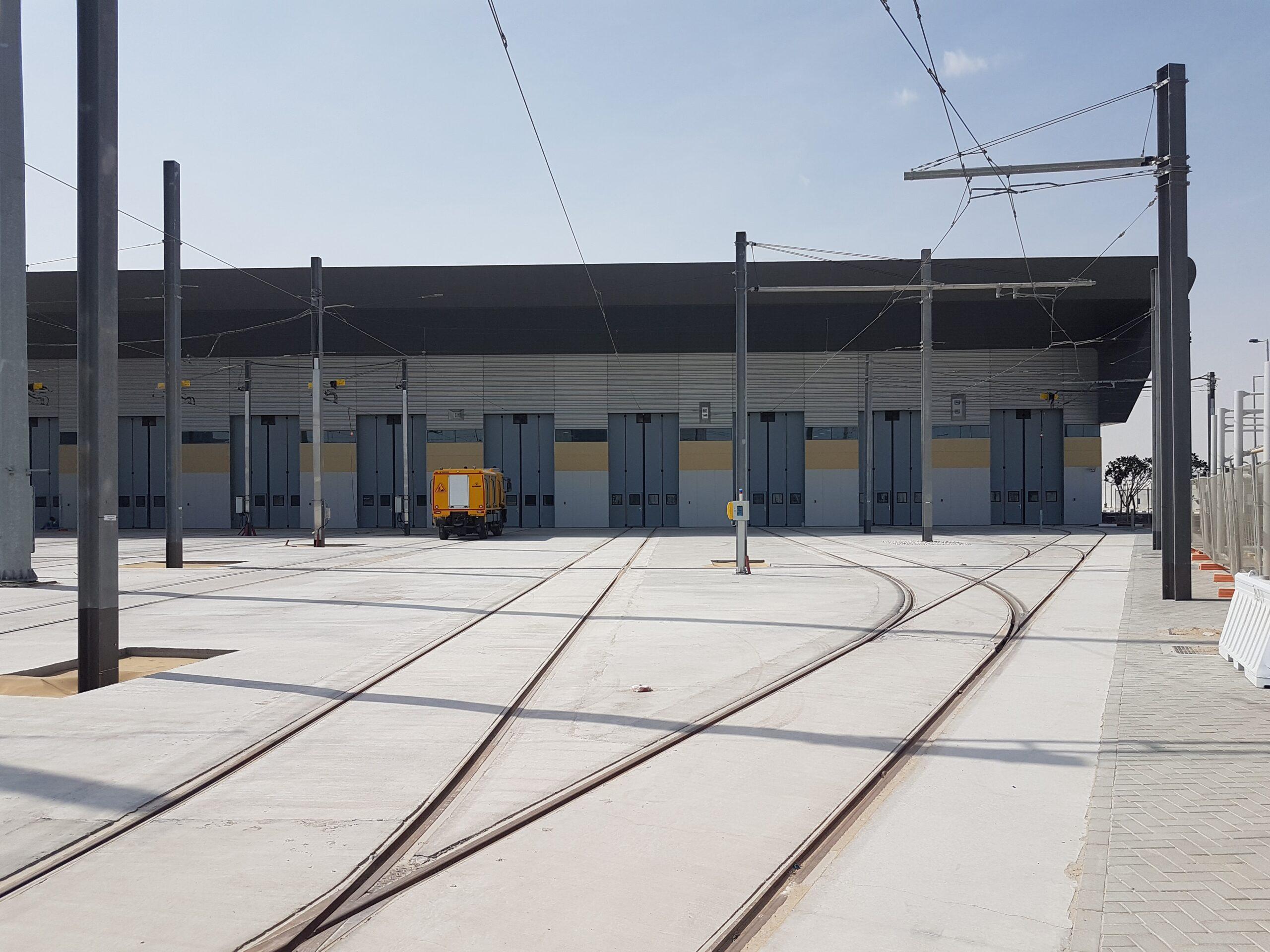 Lusail Light Rail in Qatar