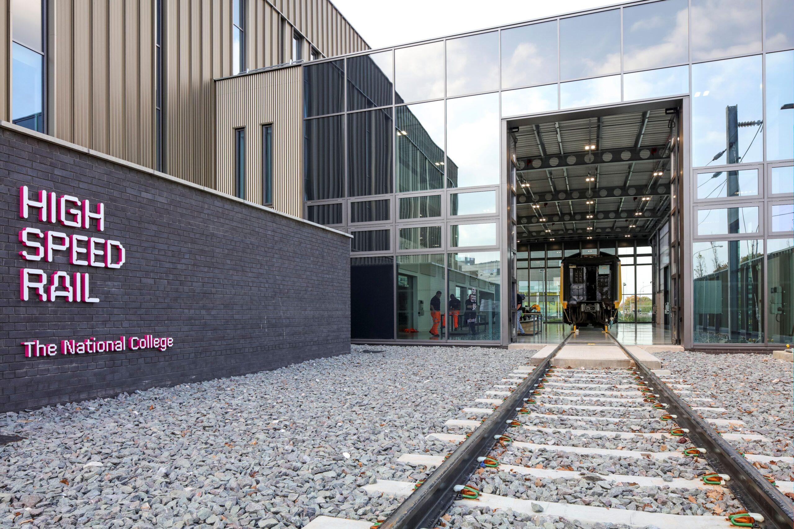 National College for High Speed Rail – Birmingham – 1 set of Swift-SEW fully glazed bi-folding doors – 2016