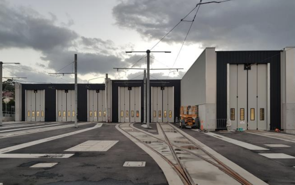 Jewers Doors Sydney Light Rail Depot