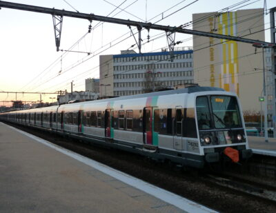 CAF-Bombardier Consortium Chosen as Preferred Bidder for RER B Trains