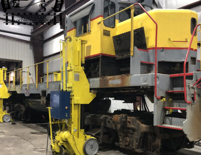 Facility Spotlight: PowerRail Locomotive Services