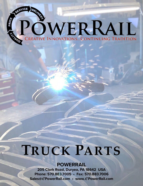 PowerRail Truck Parts Catalog 2020