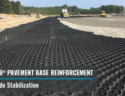 GEOWEB® Pavement Base Reinforcement