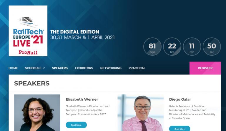 RailTech Europe 2021