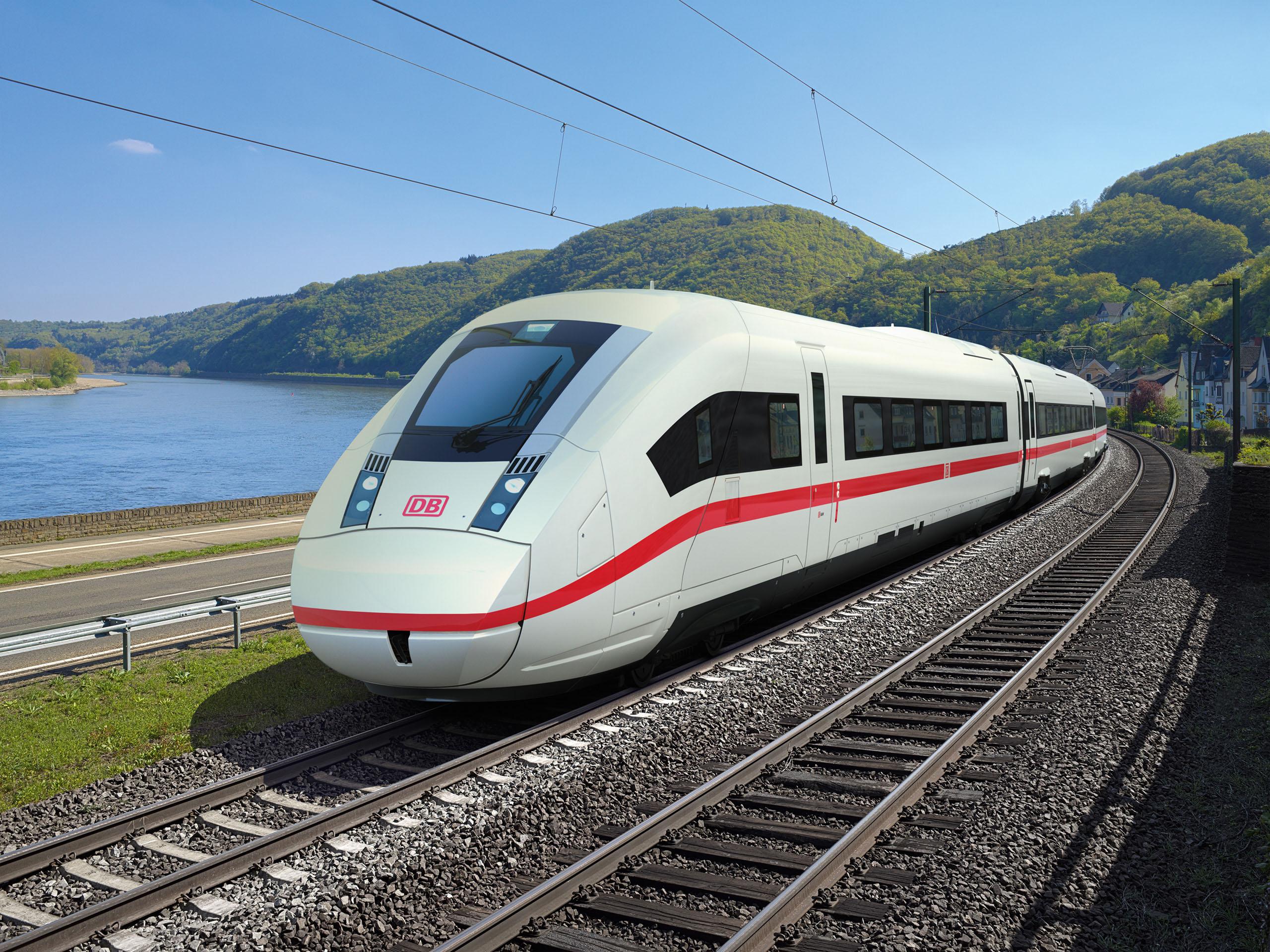 Deutsche Bahn ICE 4 design rendering