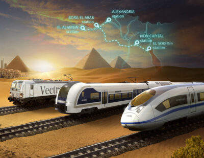 Siemens Mobility Signs MoU to Build Egypt's First High-Speed Rail System