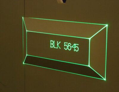 Virtek Vision projected text