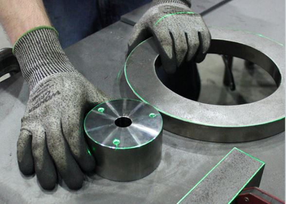Welded tooling with lasers