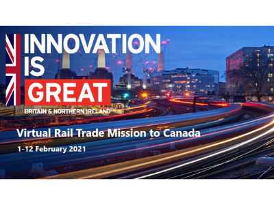 Virtual Rail Trade Mission to Canada
