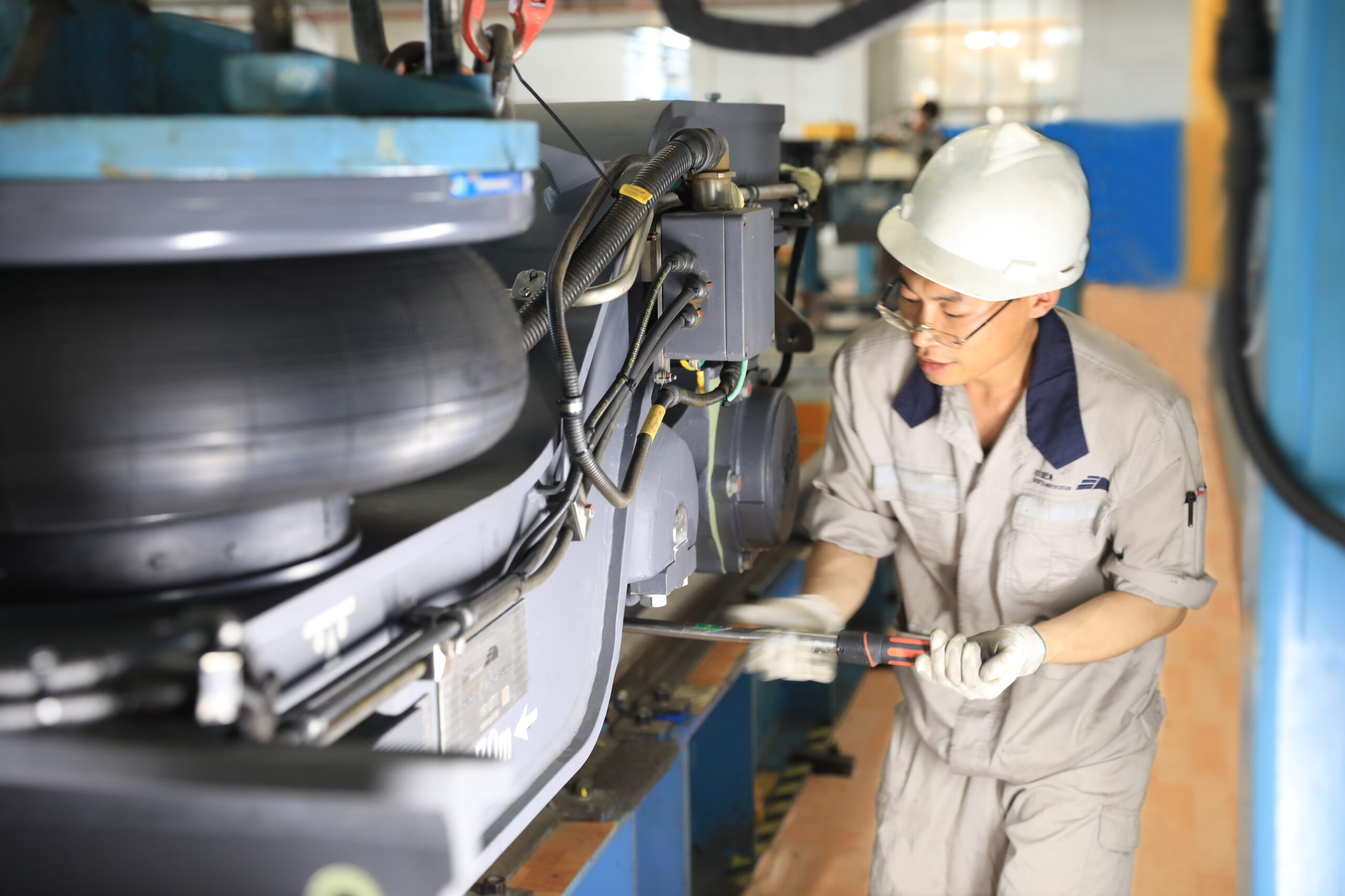 BST maintenance workshop, China