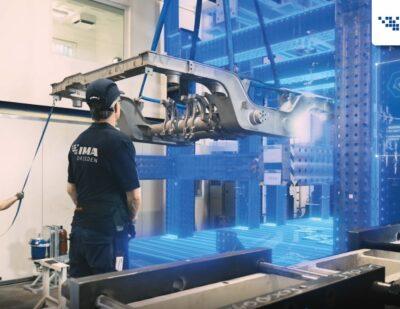 IMA Dresden – Train Bogie Strength Tests