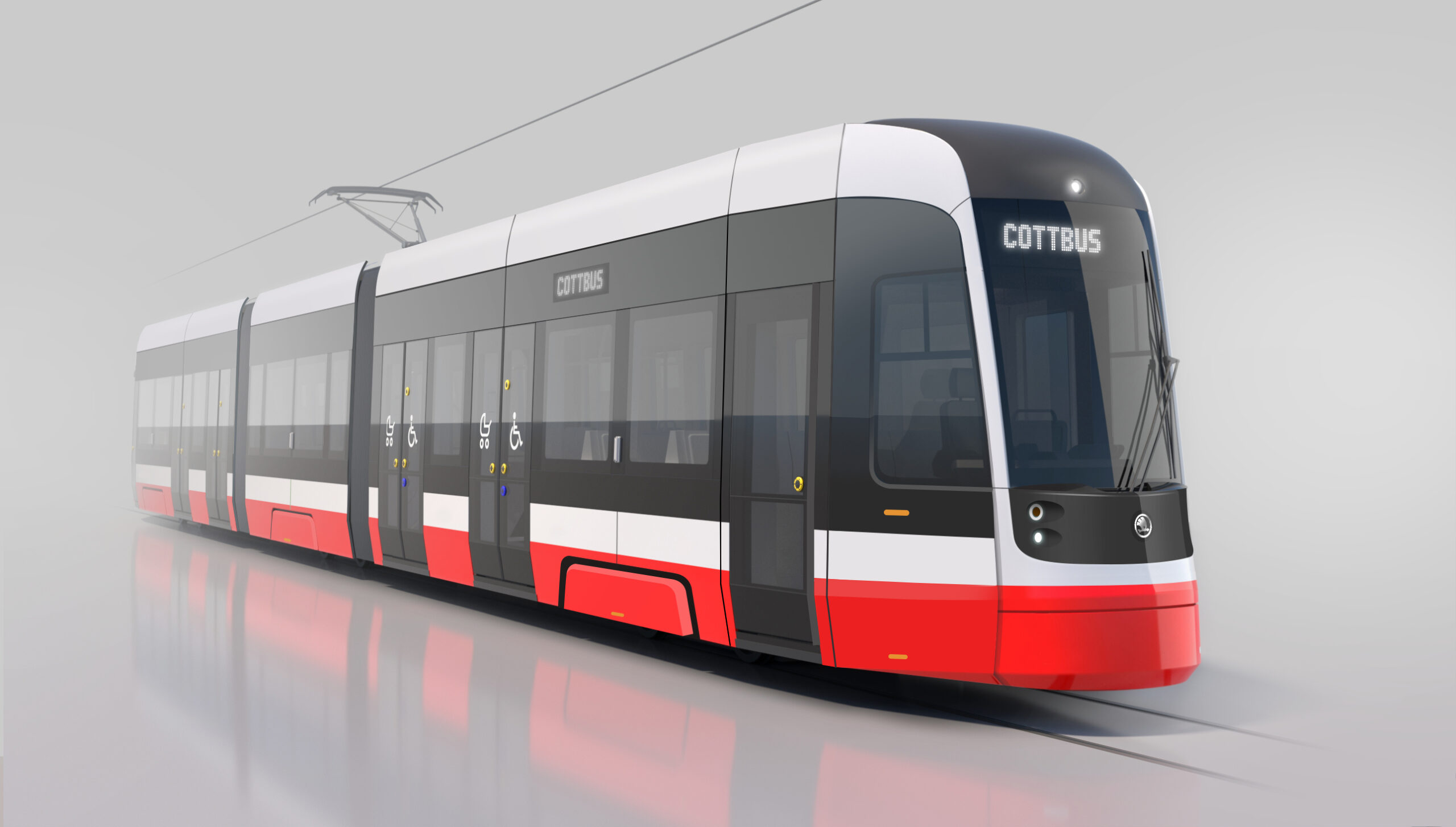 Škoda Transportation has won a contract to supply ForCity Plus trams to Brandenburg, Frankfurt and Cottbus in Germany