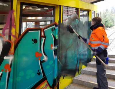 10 Years of Expert Graffiti Cleaning and Prevention!