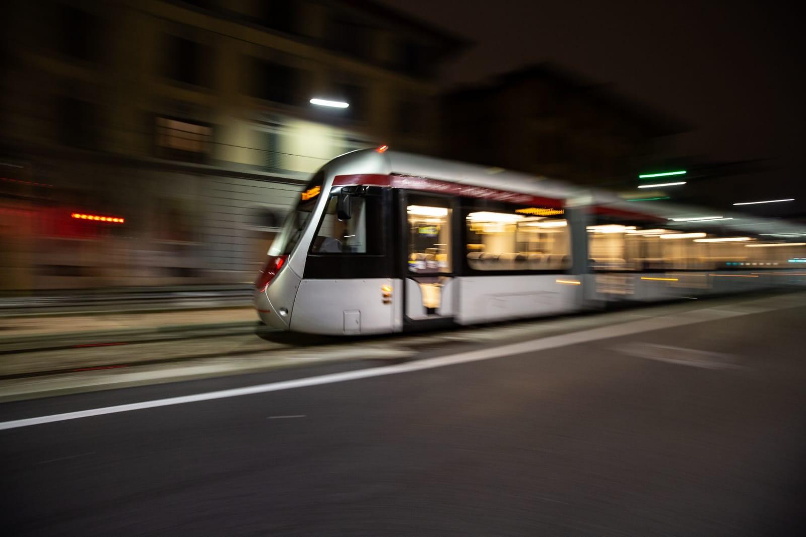 Hitachi Rail battery tram