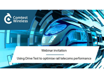 Drive Test to Optimise Rail Telecoms Performance