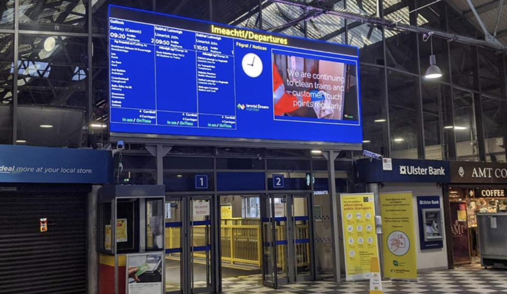 Daktronics LED Display Passenger Information