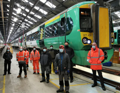 First of 270 GTR Electrostar Trains Back in Service after Modernisation