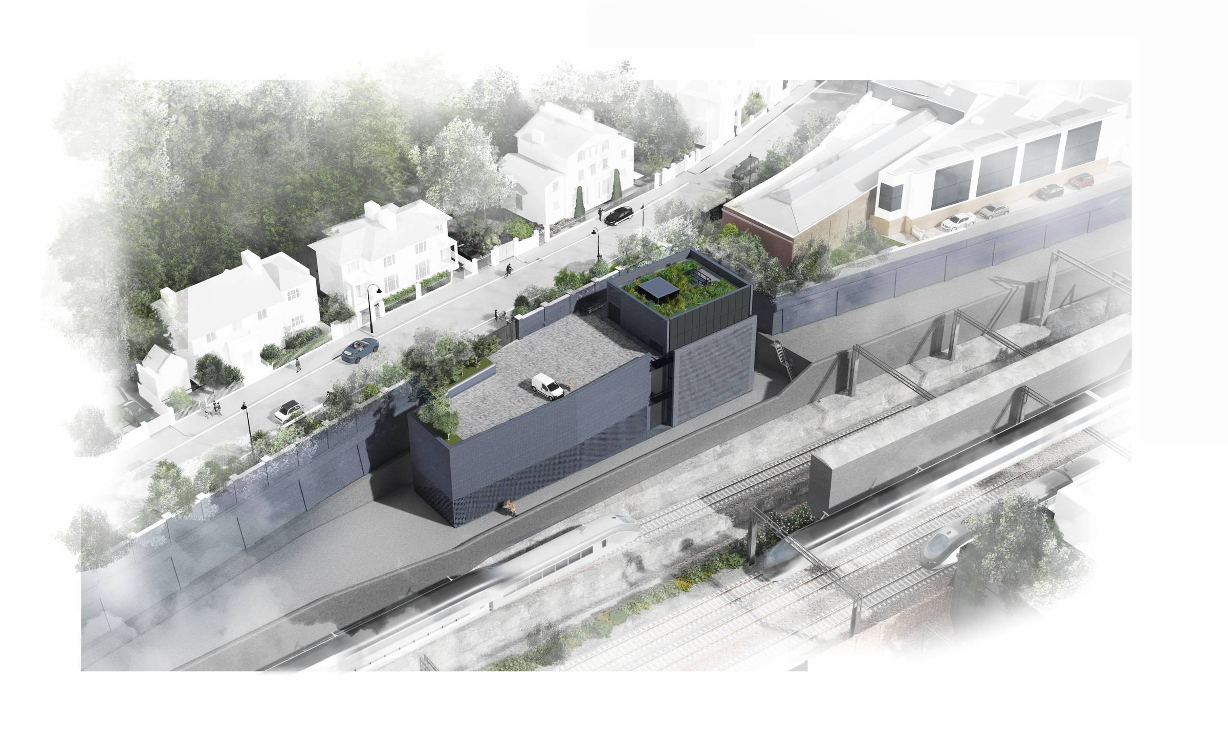 Euston headhouse design HS2