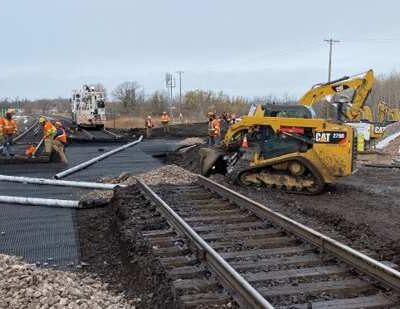Case Study: Diamond Crossing Replacement with TrackTex®
