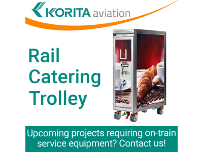 Korita Can Design AND Produce Your Rail Catering Trolleys!