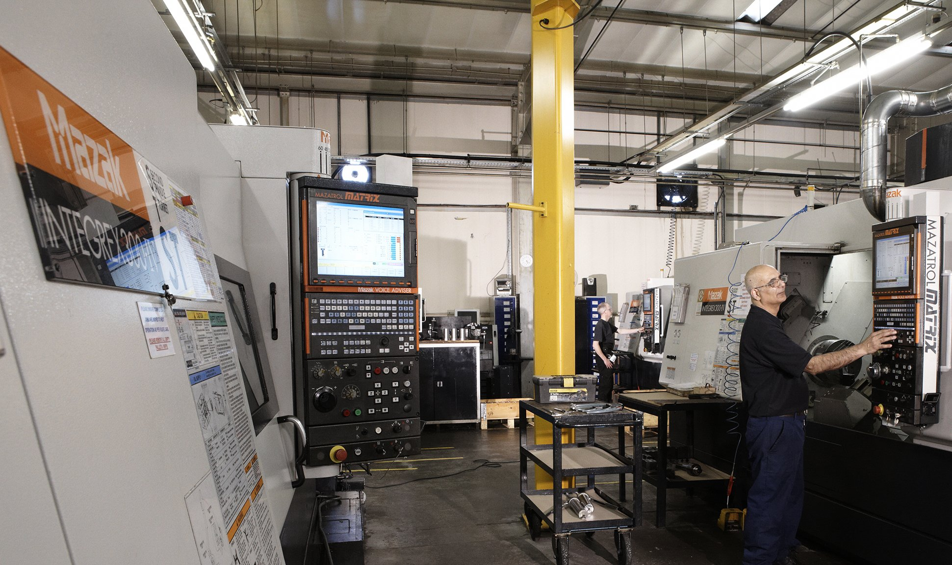 CNC 5 Axis Machines
