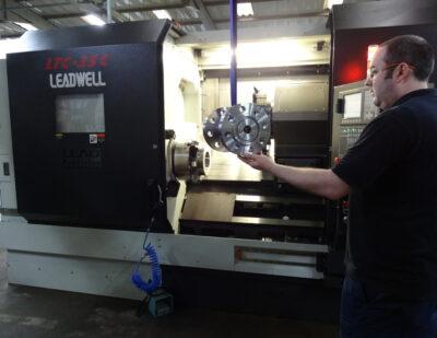 Mini Gears CNC Heavy Duty Turning Machines