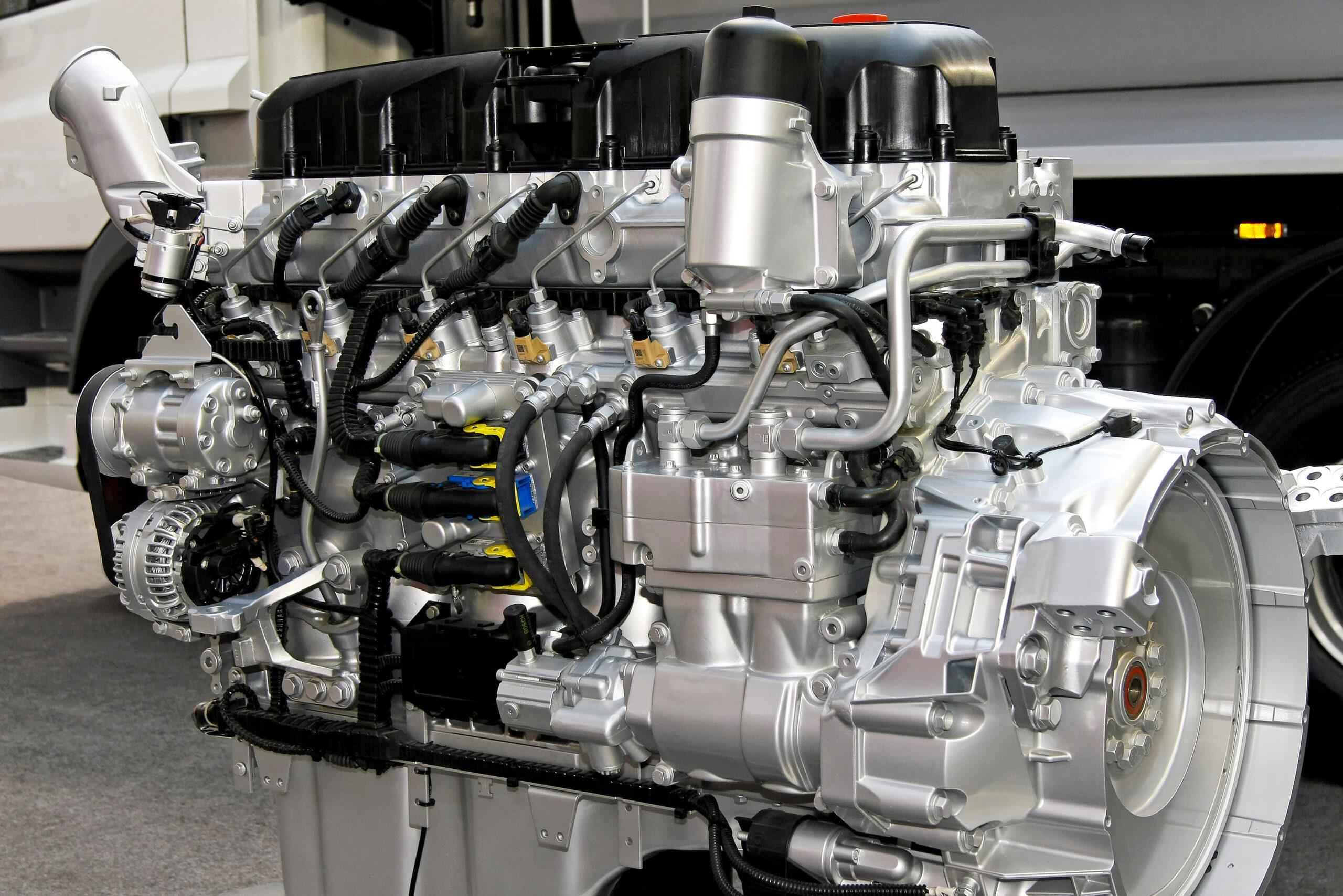 Gears and Machined Components for Diesel Engines