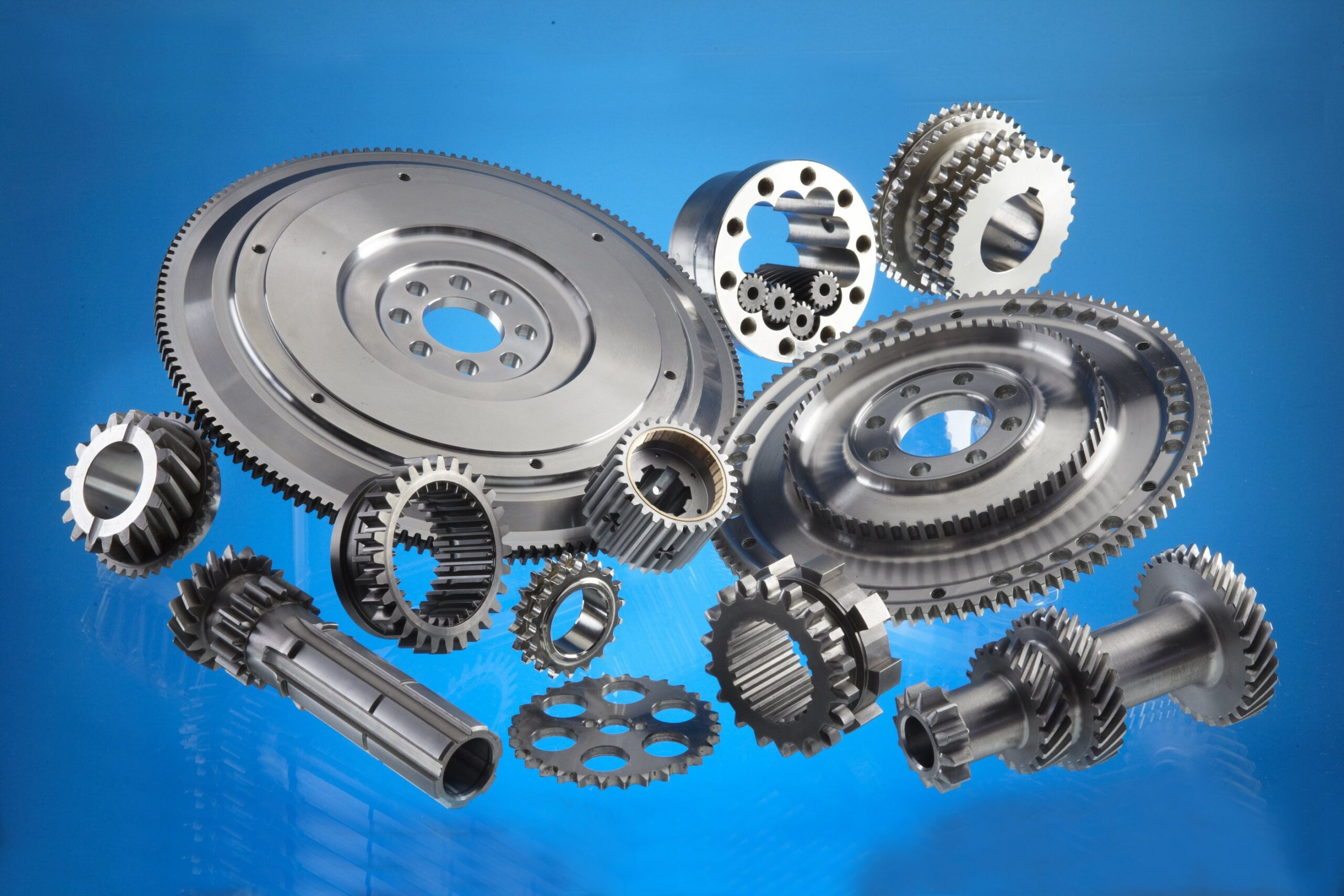 Flywheels, Layshafts & Geared Components