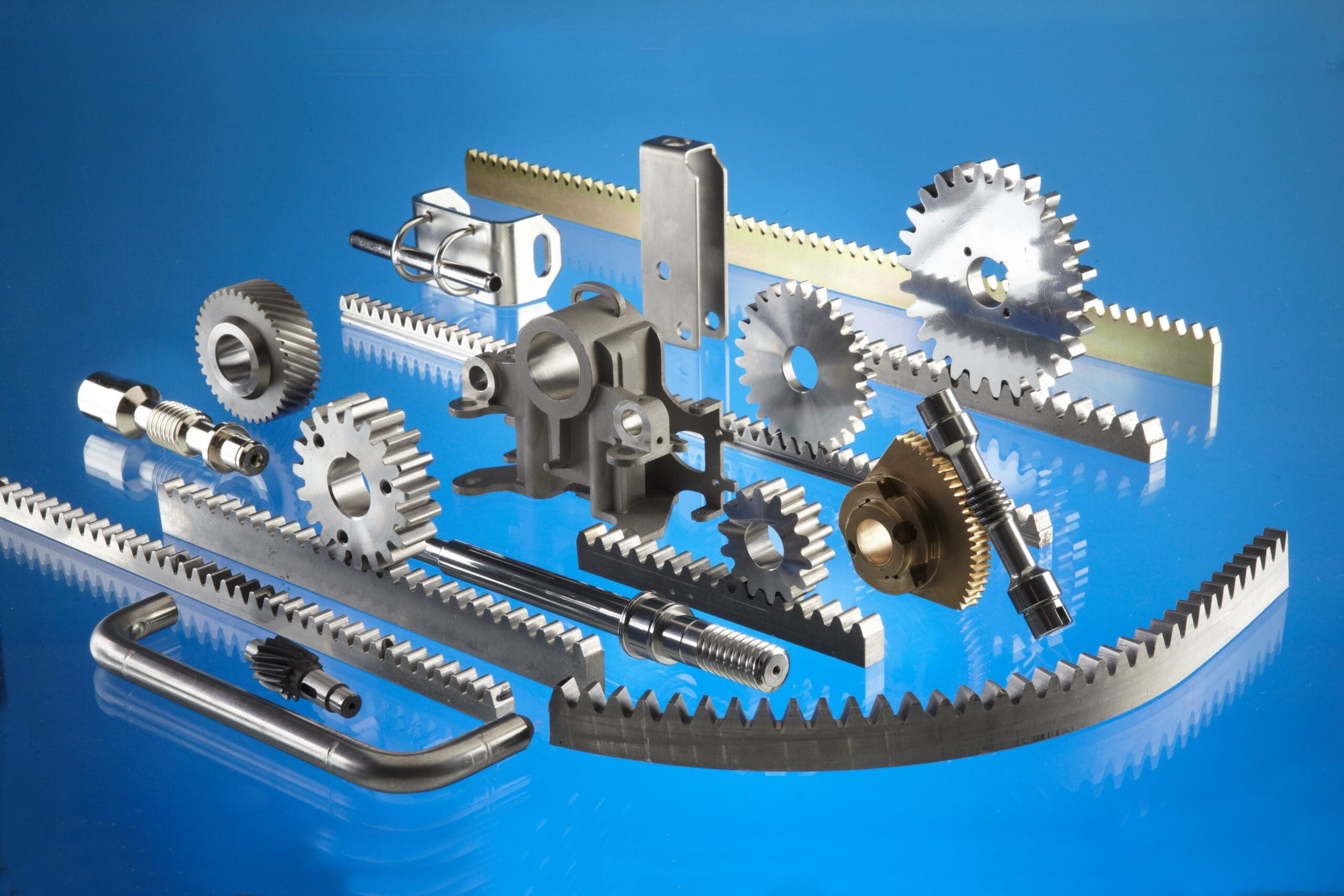 Machined Components, Gears and Racks