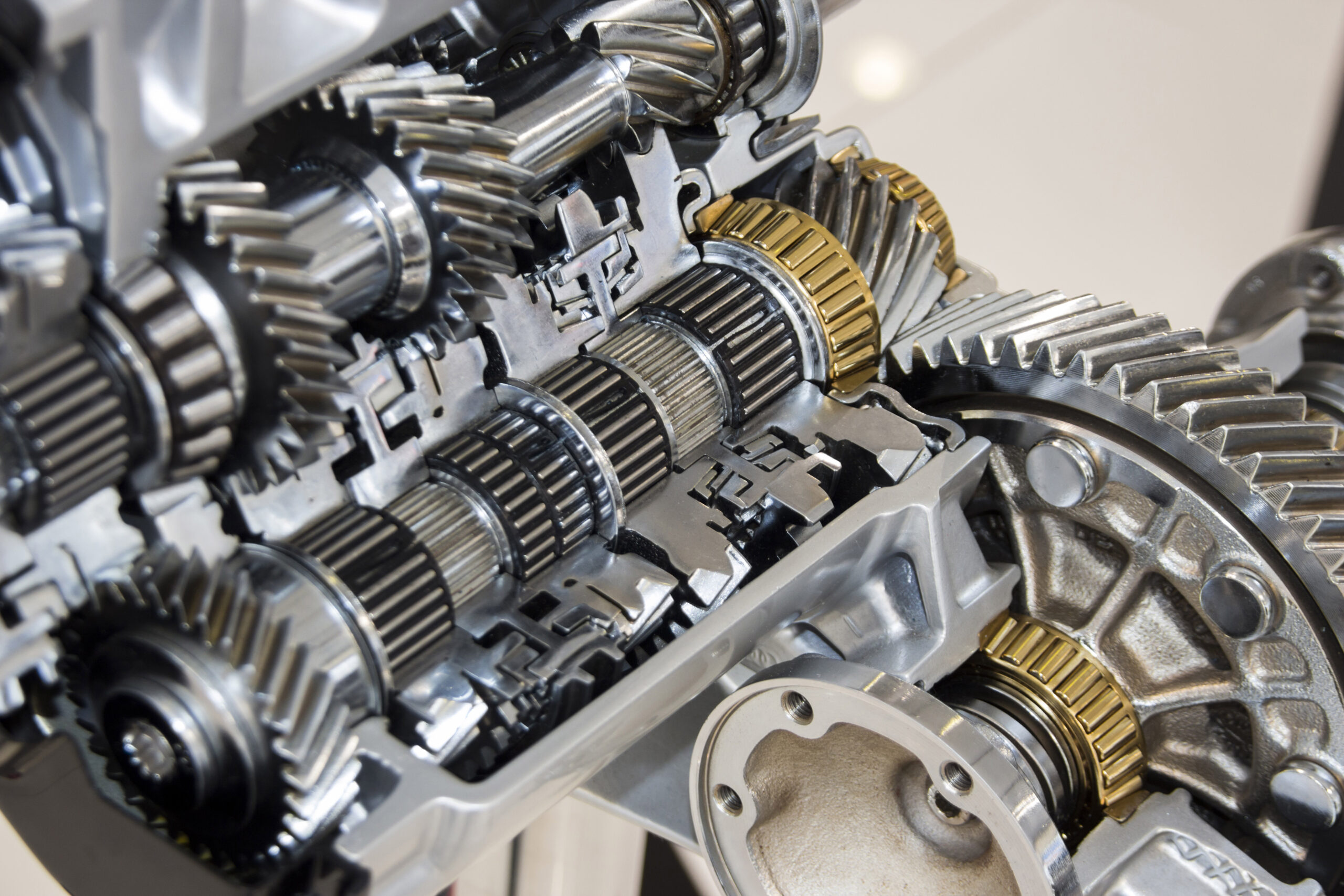 Gears and Machined Components for Gearboxes