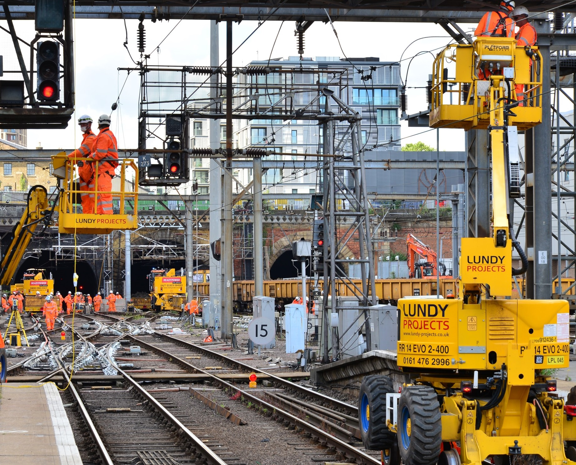Network Rail to begin works at London King's Cross station as part of the 1.2 billion GBP East Coast Main Line