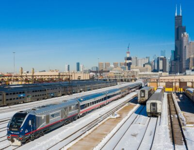 Amtrak Tests New Siemens Mobility Venture Railcars