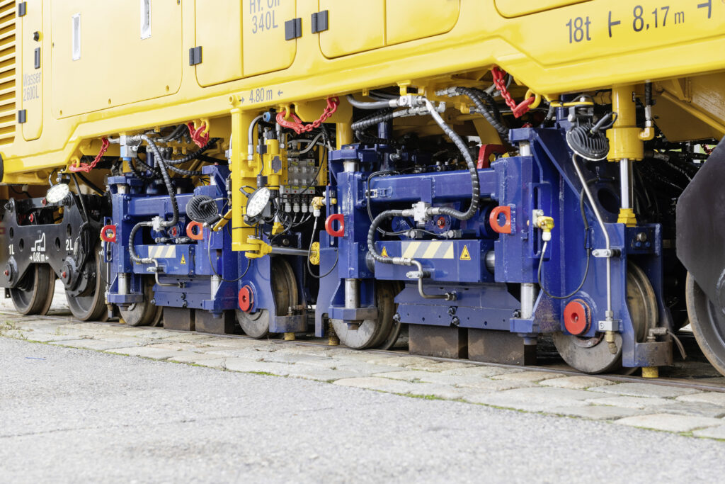 Rail Grinding Machine for Light Rail and Trams