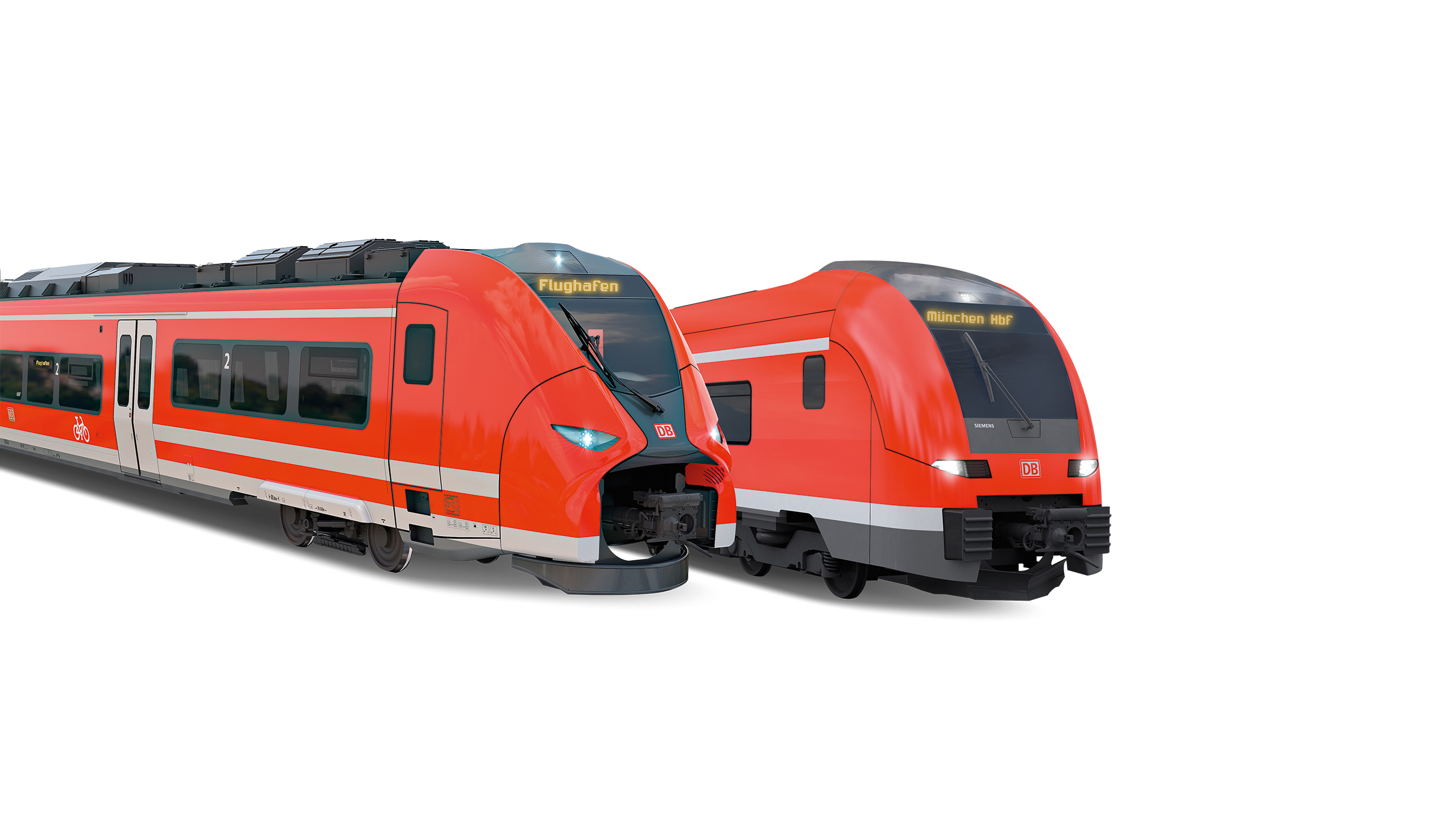 DB Regio Bayern orderos single-decker Mireo and double-decker Desiro HC trains from Siemens Mobility