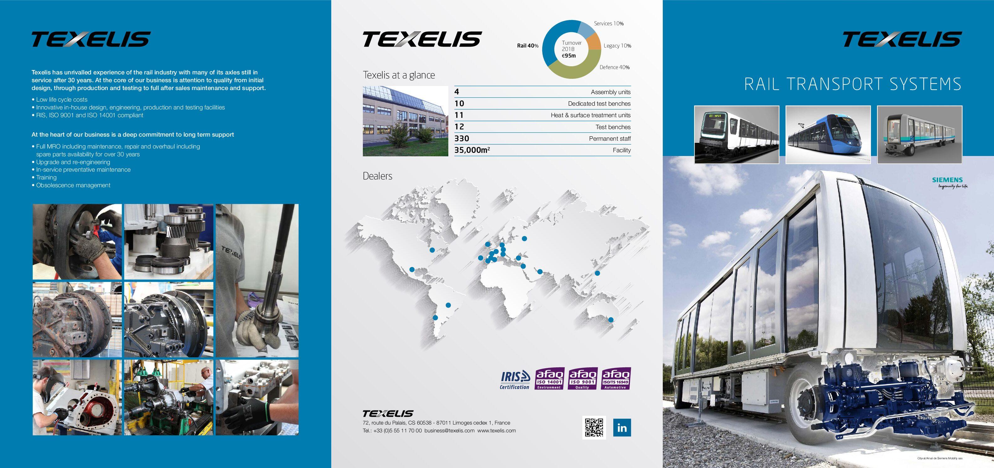 Texelis Rail Transport Systems Brochure