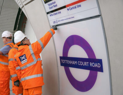 Crossrail Tottenham Court Road Station Reaches Milestone
