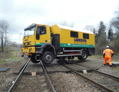 Lankelma UK12 Rail CPT Truck