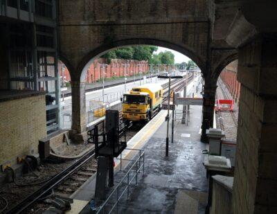 Lankelma UK12 Rail CPT Truck Testing