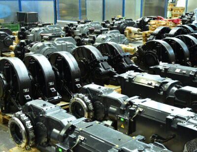 Wikov Gearboxes and Drives for Rail Vehicles