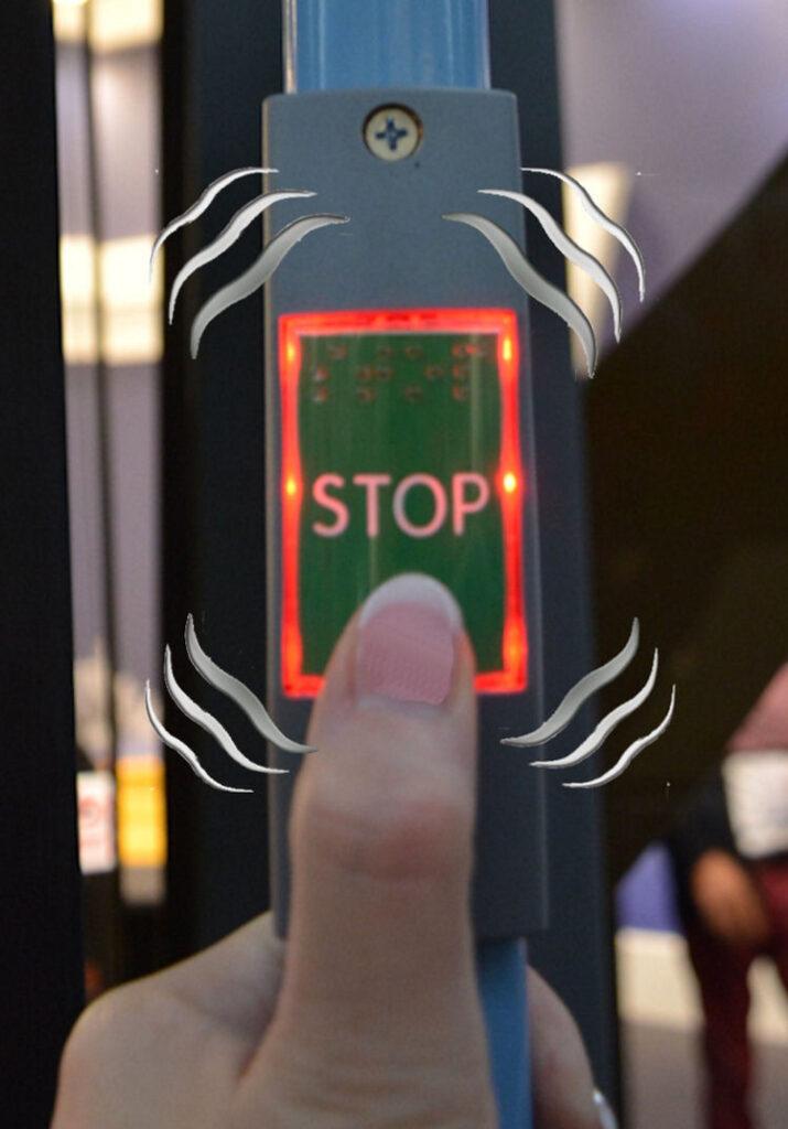 TSL-ESCHA Hand Rail Buttons