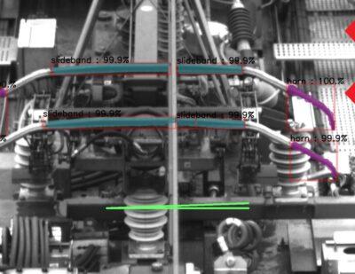 AI Analysis – Pantograph Damaged