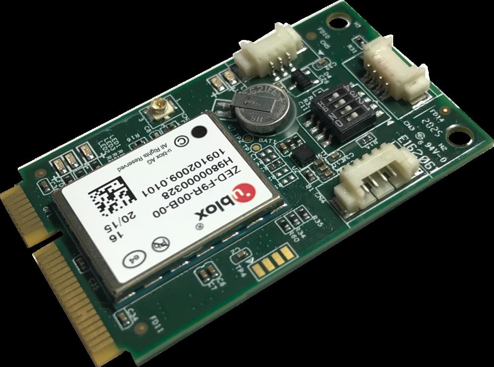 High Precision Multiband GPS/GNSS + CAN mPCIe Module (ANNA-F9)
