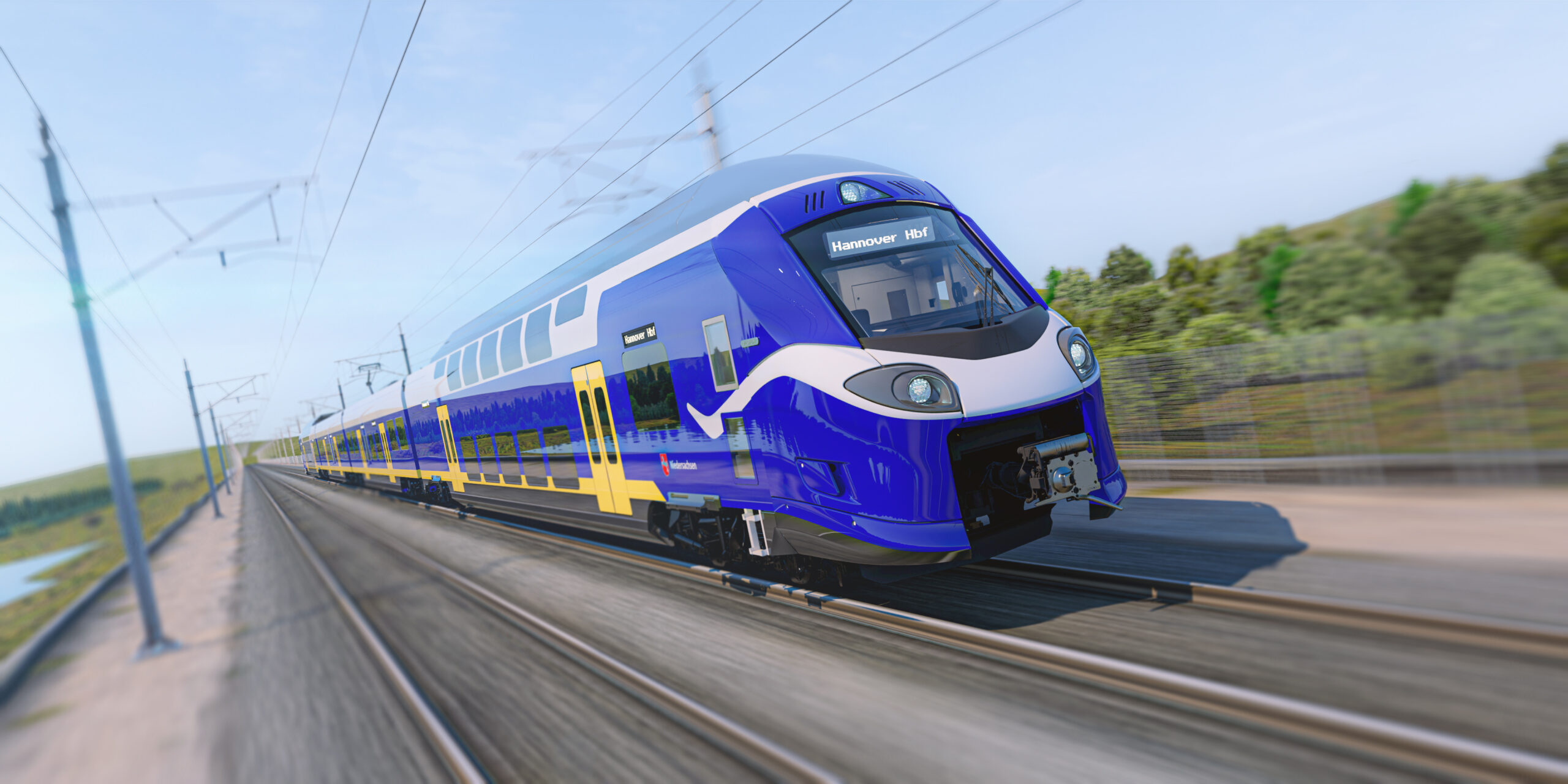 Alstom Coradia Stream for Lower Saxony