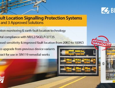 Network Rail Approves Tier 1 and 2 Trials for Bender UK Rail Signalling Power Protection System