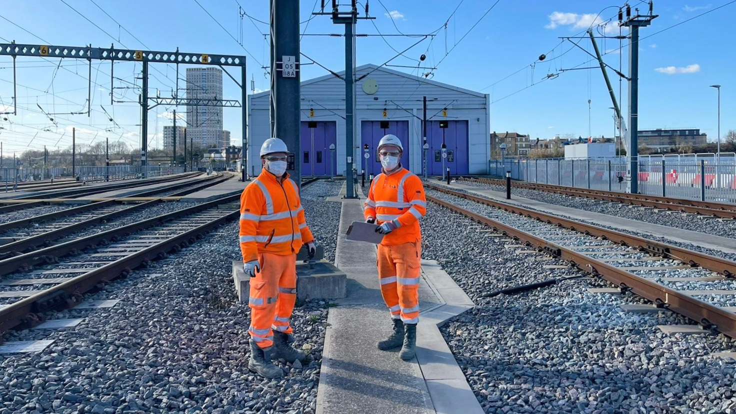 The Heathrow Express depot is formally handed over to Network Rail