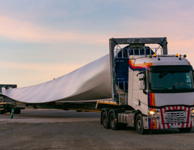 HS2 to Use Retired Wind Turbine Blades to Reinforce Concrete