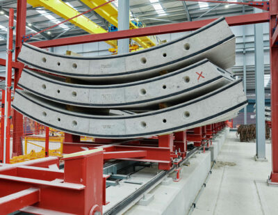 HS2 Casts First of 112,000 Chiltern Tunnel Wall Segments