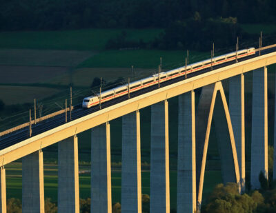 Germany to Invest 12.7 Billion Euros in Its Rail Network in 2021