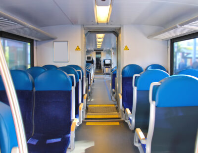 Industrilas Interior Design for Trains