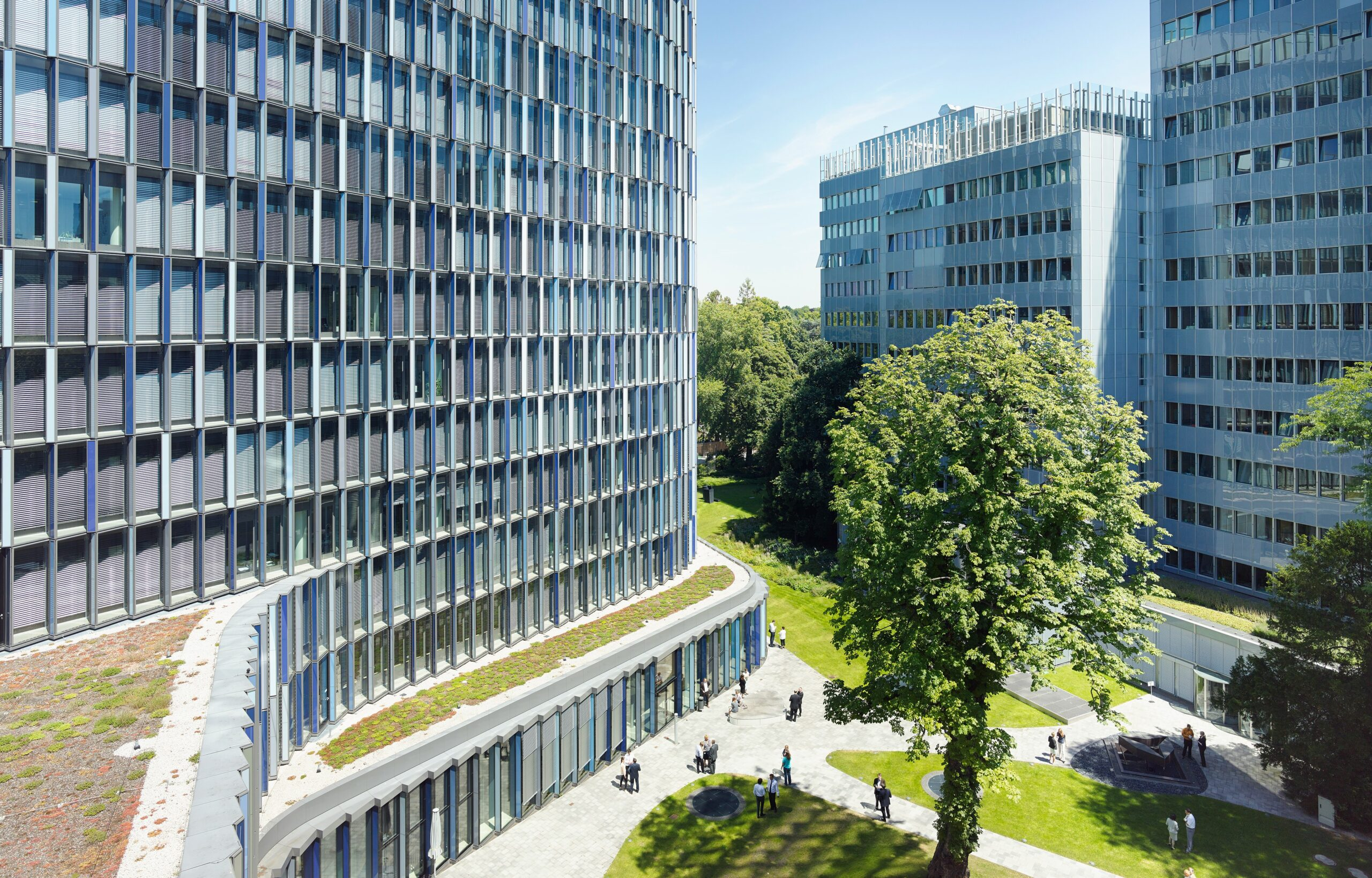 KfW IPEX-Bank resides in one of the most environmental friendly office buildings in the world: the